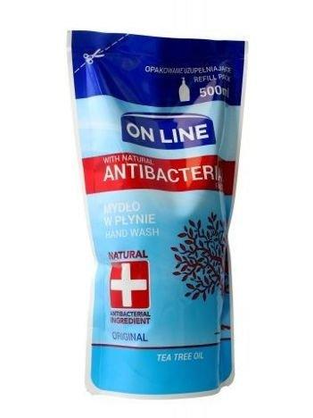 On Line Mydło w płynie Antybakteryjne Original - uzupełnienie  500 ml