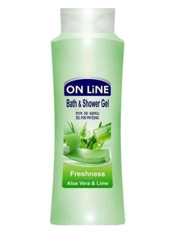 On Line Płyn do kąpieli i pod prysznic 2 w 1 Freshness  750 ml