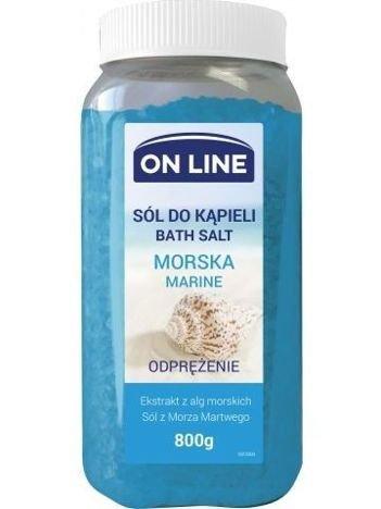 On Line Sól do kąpieli Morska  800 g