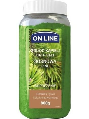 On Line Sól do kąpieli Sosna  800 g