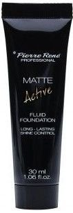 PIERRE RENE Matte Active fluid matujący no.02 porcelain 30 ml
