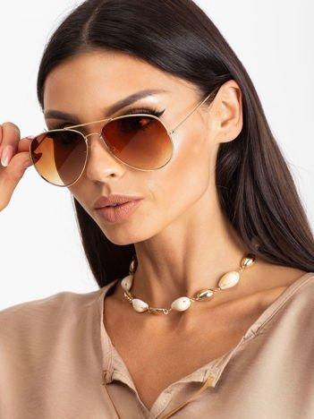 PILOTKI AVIATORY okulary przewciwsłoneczne
