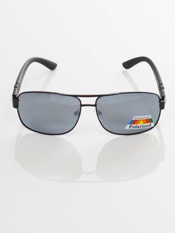POLARYZACYJNE męskie okulary przeciwsłoneczne pilotki  +GRATISY
