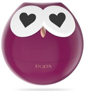 PUPA Owl Zestaw do makijażu ust - 3 pomadki i 2 błyszczyki 002 Violet Shades