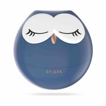 PUPA Owl Zestaw do makijażu ust - 3 pomadki i 2 błyszczyki 003 Fuchsia Shades