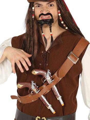 Pas pirata z pistoletami