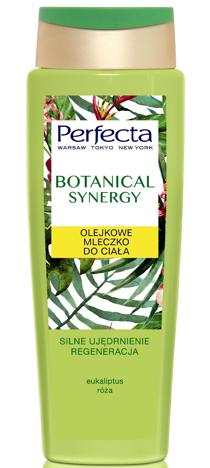 Perfecta Botanical Synergy Olejkowe Mleczko do ciała - Eukaliptus i Róża 400 ml