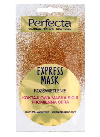 Perfecta Express Mask Koktajlowa Maska S.O.S rozświetlająca 8 ml
