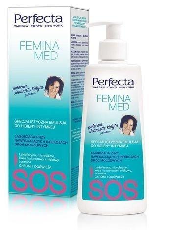 Perfecta Femina Med SOS Specjalistyczna Emulsja łagodząca do higieny intymnej  (infekcje dróg moczowych) 250 ml