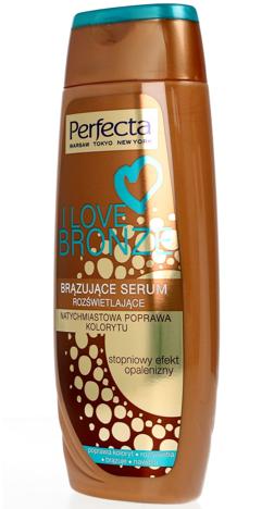 Perfecta I Love Bronze Brązujące Serum rozświetlające każda karnacja 250 ml