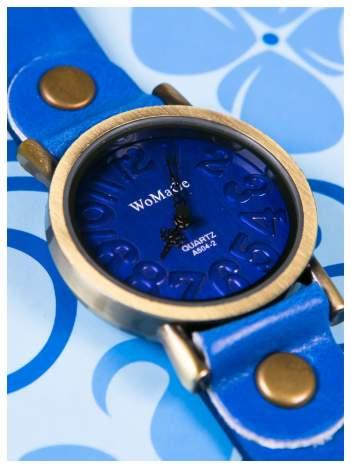 Piękny granatowy damski zegarek