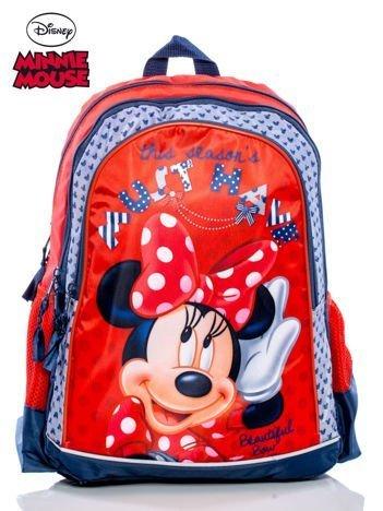 Plecak szkolny dla dziewczynki DISNEY MINNIE MOUSE czerwony