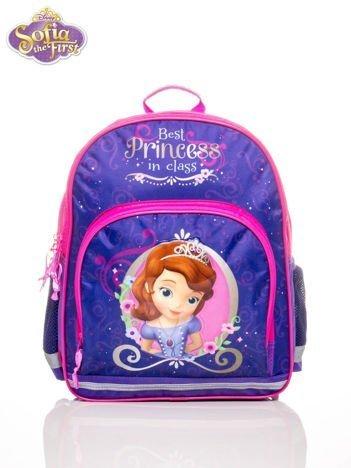 Plecak szkolny dla dziewczynki nadruk SOFIA THE FIRST