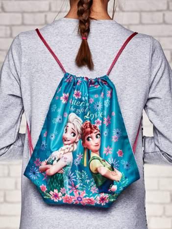 Plecak typu worek z nadrukiem FROZEN