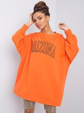 Pomarańczowa bluza Samiya