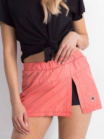 Pomarańczowa spódnica z szortami Intimate