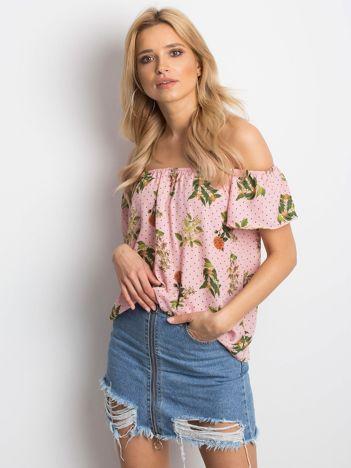 Pudroworóżowa bluzka Anymore
