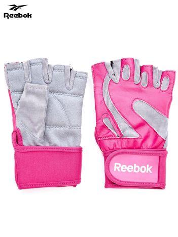REEBOK Różowe rękawiczki treningowe