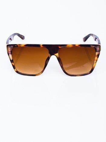 RETRO Przeciwsłoneczne okulary z motywem zwierzęcym