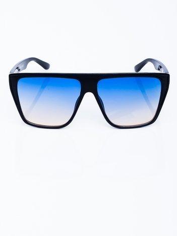 RETRO Przeciwsłoneczne okulary z niebieską szybą