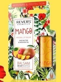 REVERS Balsam do ust w sztyfcie Nawilżenie & Ochrona Mango 4g