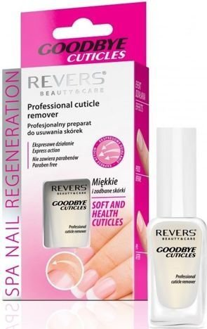 REVERS GOODBYE CUTICLES Profesionalny preparat do usuwania skórek 10 ml