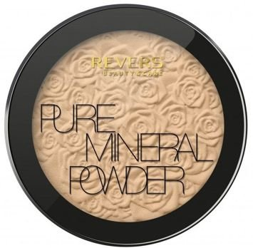 REVERS Mineral PURE Powder, Puder prasowany nr 02 9 g