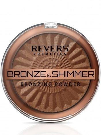 REVERS Puder BRONZE & SHIMMER nr 4, 9 g