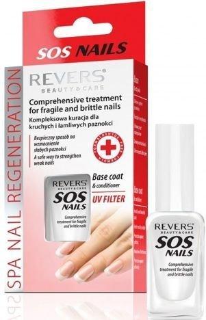 REVERS SOS NAILS Kompleksowa kuracja dla kruchych i łamliwych paznokci 10 ml