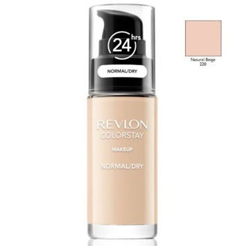 REVLON ColorStay podkład z pompką do skóry normalnej i suchej z kompleksem SoftFlex 220 Natural Beige 30ml
