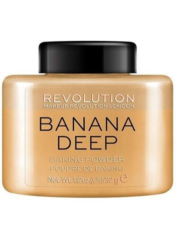 REVOLUTION Puder sypki Loose Baking Powder Banana Deep 32 g