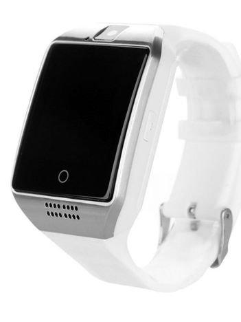 RONEBERG Smartwatch RQ18 Współpracuje z Android oraz iOS Powiadomienia Kamera Połączenia Krokomierz Biały