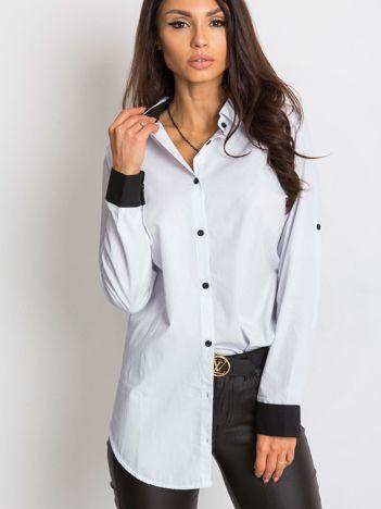 RUE PARIS Biała koszula Measure