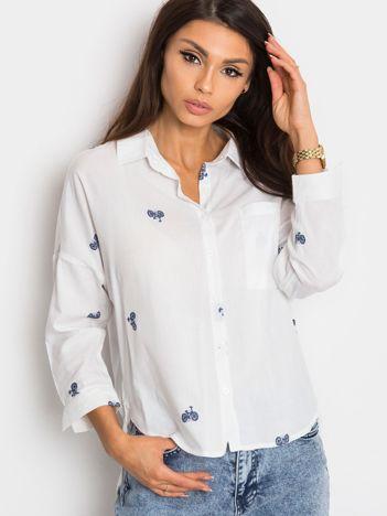 RUE PARIS Biała koszula Prince