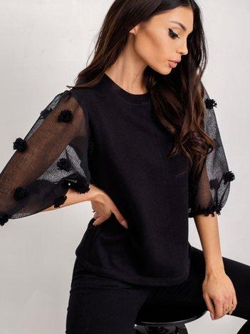 RUE PARIS Czarna bluza Camille