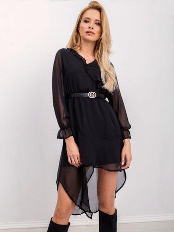RUE PARIS Czarna sukienka Blacky