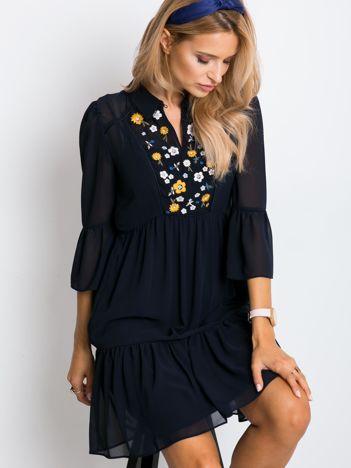 RUE PARIS Czarna sukienka Blaire
