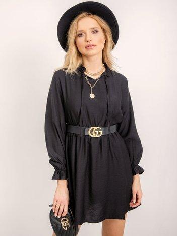 RUE PARIS Czarna sukienka Cindy