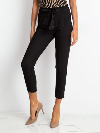 RUE PARIS Czarne spodnie Devon