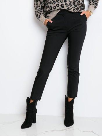 RUE PARIS Czarne spodnie Shanie