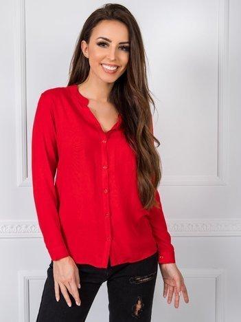 RUE PARIS Czerwona bluzka Fame