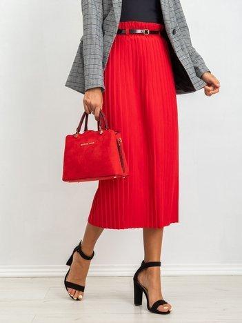 RUE PARIS Czerwona spódnica Tammy