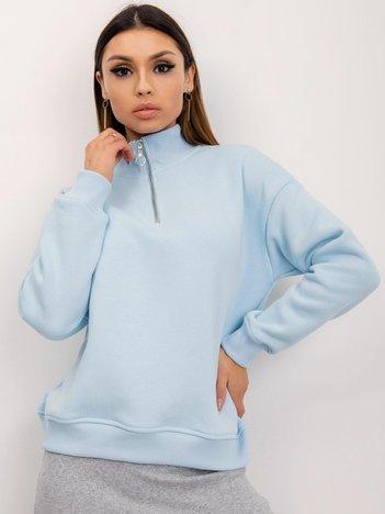 RUE PARIS Jasnoniebieska bluza Ayla