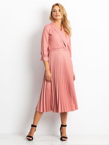 RUE PARIS Różowa sukienka Hope
