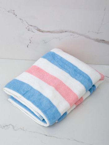 Ręcznik kąpielowy w kolorowe paski
