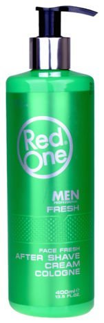 RedOne AFTER SHAVE CREAM COLOGNE FRESH WODA KOLOŃSKA W KREMIE 400 ML