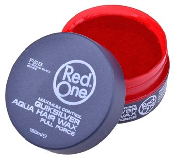 RedOne AQUA WAX FULL FORCE QUIKSILVER Wodny wosk do włosów ZAPACH AGRESTU 150 ML