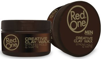 RedOne CREATIVE CLAY WAX STRONG HOLD MATTE Wosk z glinką 100 ML