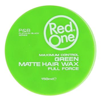RedOne MATTE HAIR WAX GREEN WOSK MATOWY 150 ML