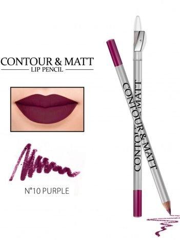 Revers Kredka do ust z temperówką CONTOUR & MATT nr 10 purple 2g
